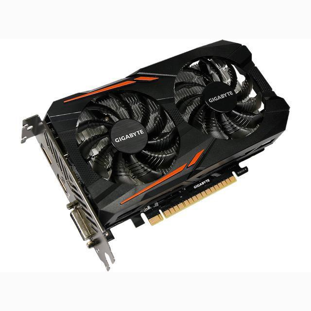VGA GIGABYTE GEFORCE GAMING GTX1050 TI 4G OC GDDR5 128 bit GeForce® GTX 1050 Ti OC 4G GV-N105TOC-4GD ,Desktop Graphic Card