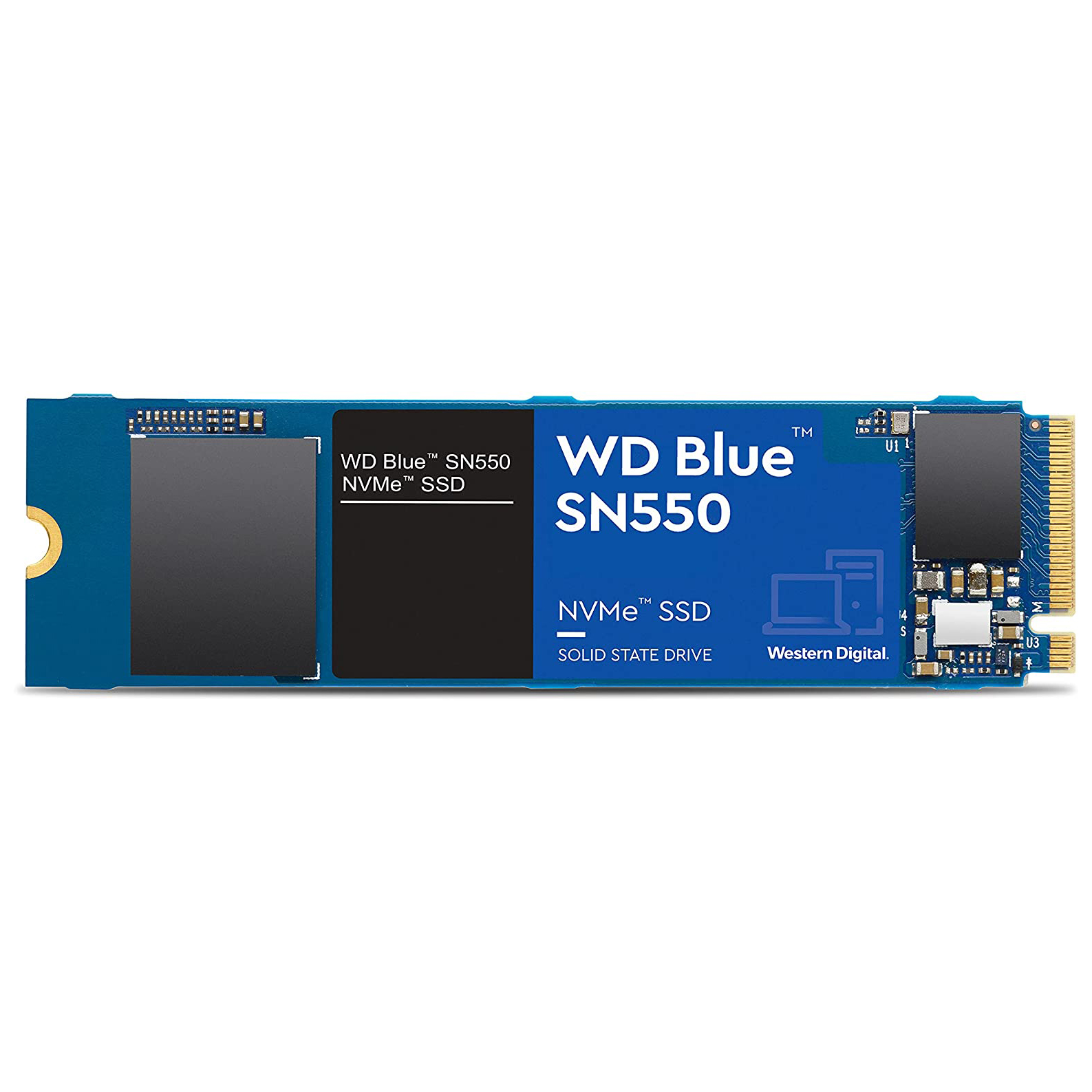 HDD SSD WD 500GB M.2 NVMe  WD BLUE SN550 ,SSD HDD