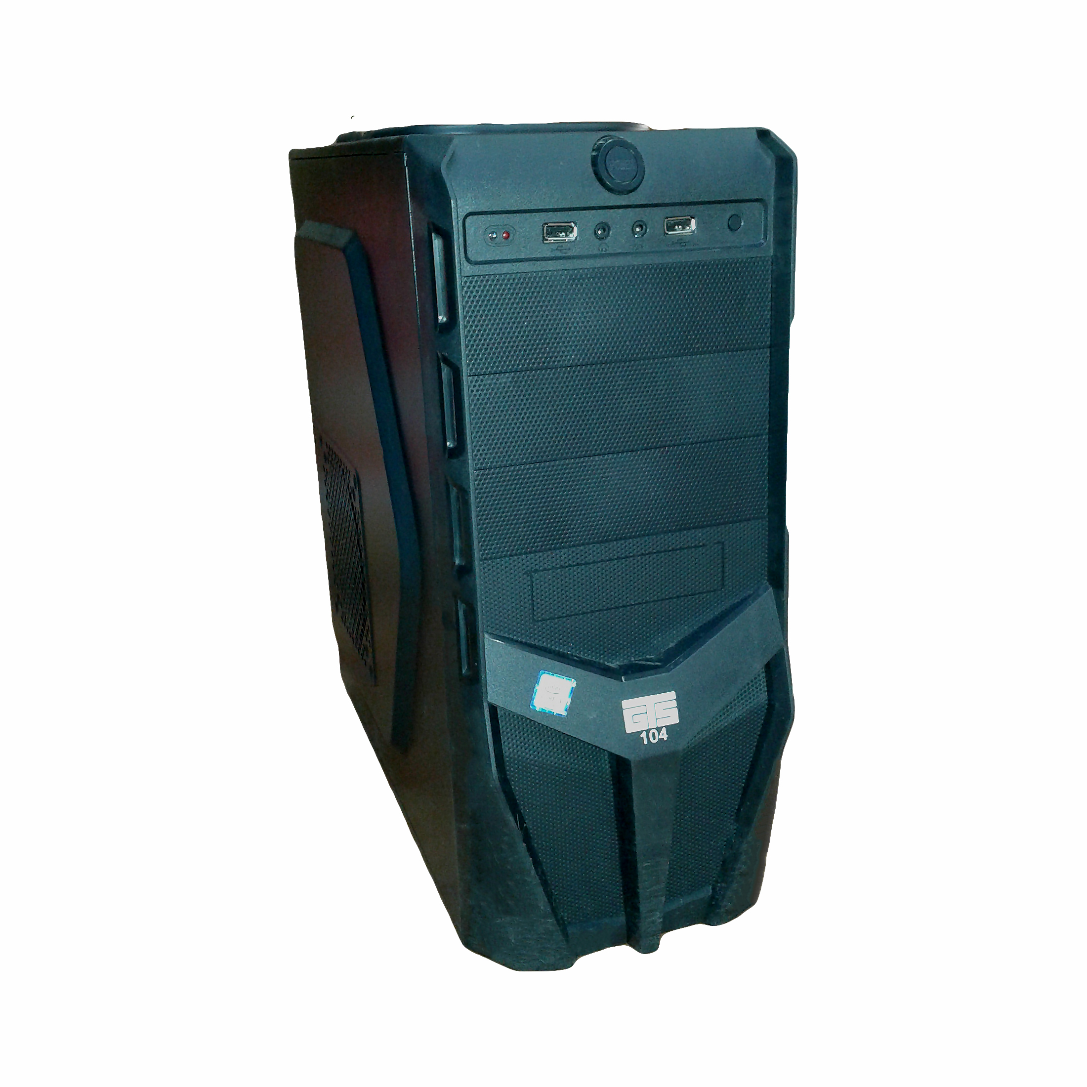 CASE I3 9100F 3.6 GHz RAM DDR4 4G 2666 MB GIGABYTE H310M-S2H HDD 1 TERRA POWER MERCURY 250W VGA AFOX GT210 1G  حاسب مكتبي تجميع ,Desktop PC