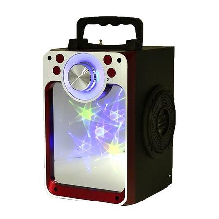 SPEAKER BLUETOOTH KTS-822S FOR MP3 & MOBILE & FM & SD CARD USB & AUX & MIC سبيكر مرايه ,Speakers