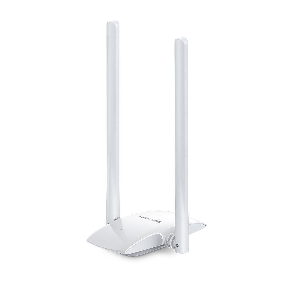 CARD LAN WIRELESS-N USB ADAPTER +ANTENNA 300  MERCUSYS -MW300UH ,Network Accessories