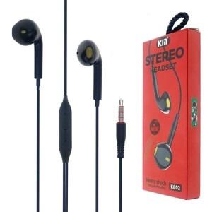EARPHONE KIN FOR SMARTPHONE OR TAB COLOR 802 عظم ,Smartphones & Tab Headsets