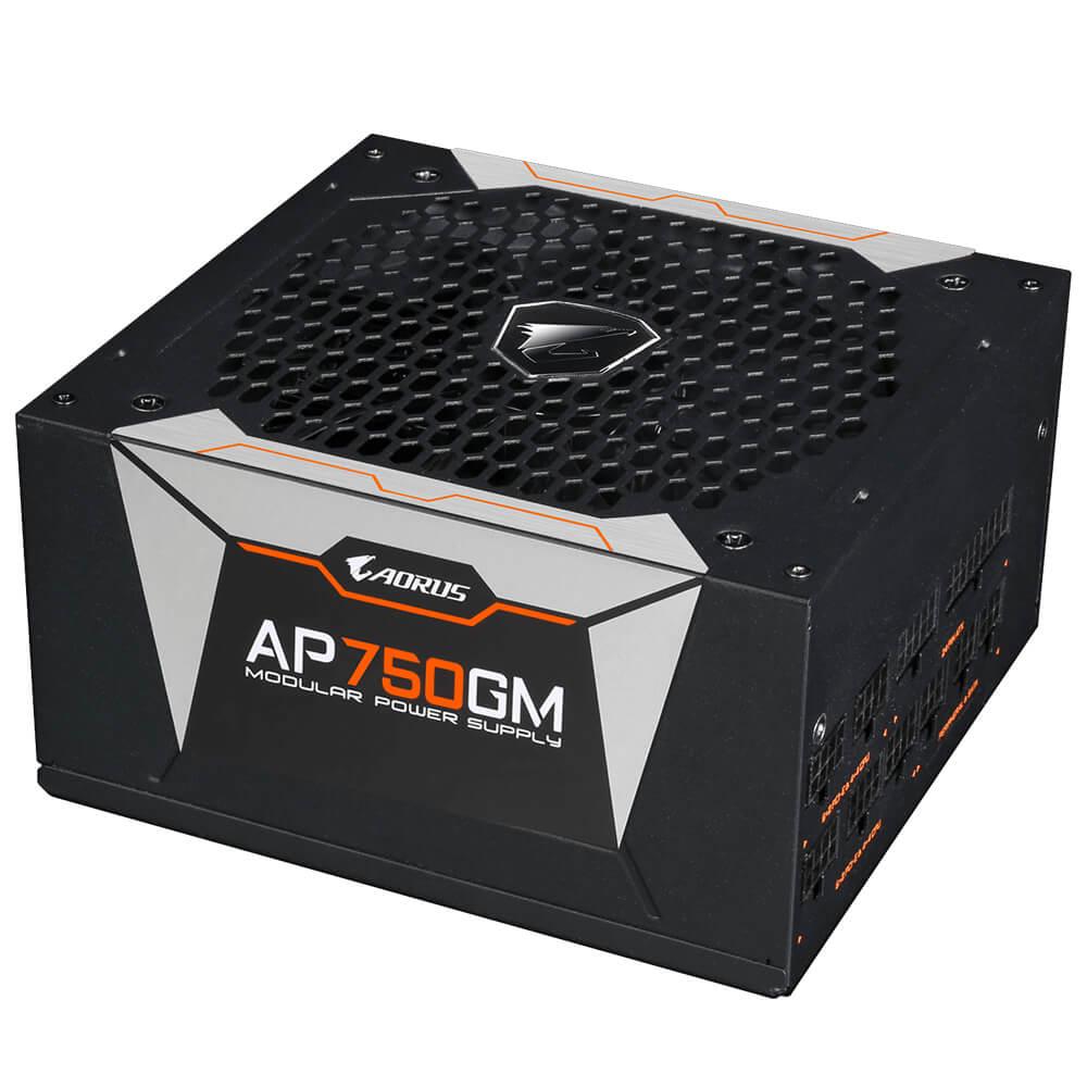 PSU POWER SUPPLY GIGABYTE AORUS  P750W 80 GOLD MODULAR ,Case & Power Supply