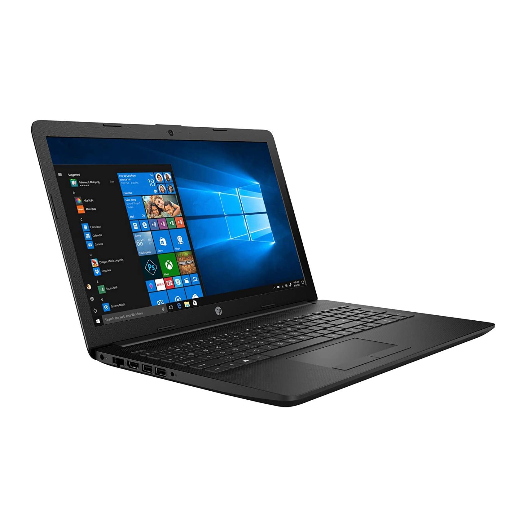 NOTEBOOK HP 15-DW3024NIA  I3 1115G4 3.0GHz 6M 4G SSD 256 VGA INTEL 15.6 BLACK ,Laptop Pc
