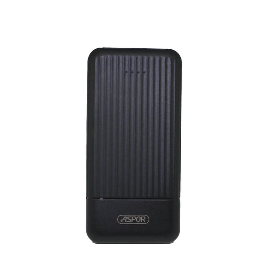 EXTERNAL BATTERY ASPOR 10000 MAH FOR SMART DEVICES POWER BANK  A323 ,Smartphones & Tab Power Banks