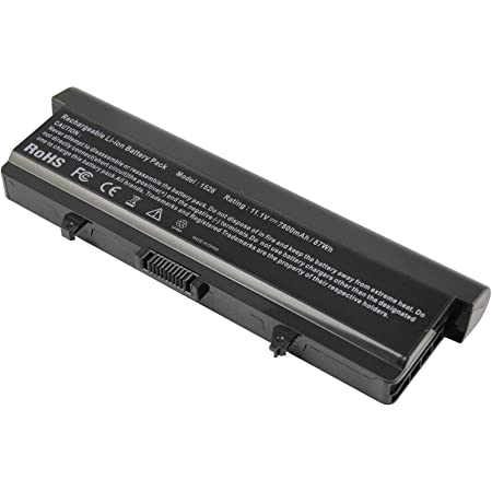 BATTERY FOR NOTEBOOK DELL INSPIRON 1525 1526 1545 1546 T-PLUS COPY, Laptop Battery