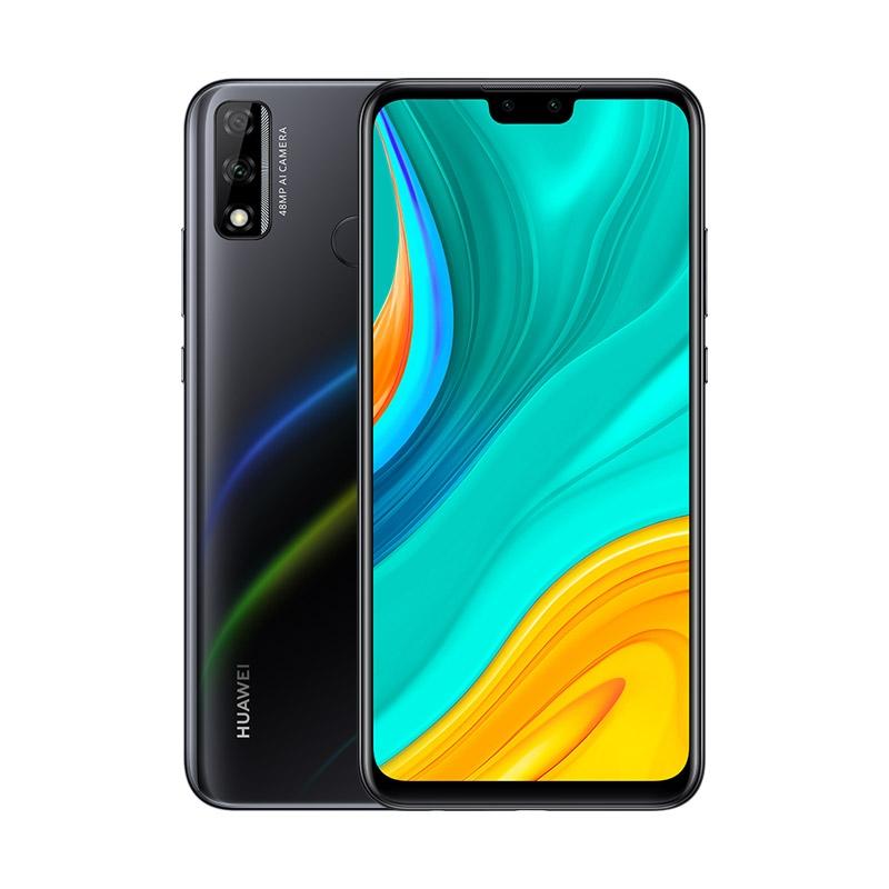 MOBILE PHONE HUAWEI 6.5 OCTA CORE 1.7GHZ 4GB RAM 64GB DUAL SIM HUAWEI Y8S BLACK ,Android Smartphone