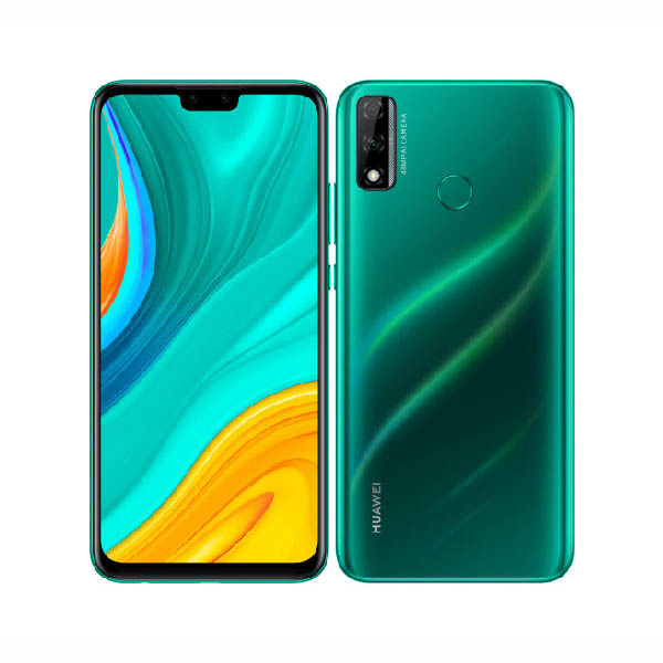 MOBILE PHONE HUAWEI 6.5 OCTA CORE 1.7GHZ 4GB RAM 64GB DUAL SIM HUAWEI Y8S GREEN ,Android Smartphone