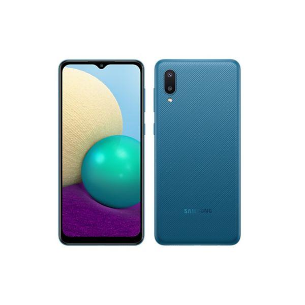 MOBILE PHONE SAMSUNG 6.5 QUAD CORE 1.5GHZ 3GB 64GB DUAL SIM GALAXY A02 BLUE ,Android Smartphone
