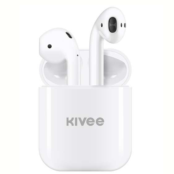 HEADSET BLUETOOTH KIVEE TWS HIGH QUALITY TW06A- ,Smartphones & Tab Headsets