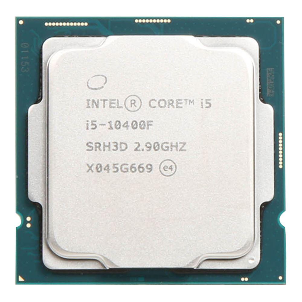 CPU INTEL CORE™ i5 10400F 2.9 GHz UP TO 4.3 GHz 12MB CACHE SOK LGA 1200/12T/6Cores /65W 14nm TRAY+FAN ,Desktop CPU