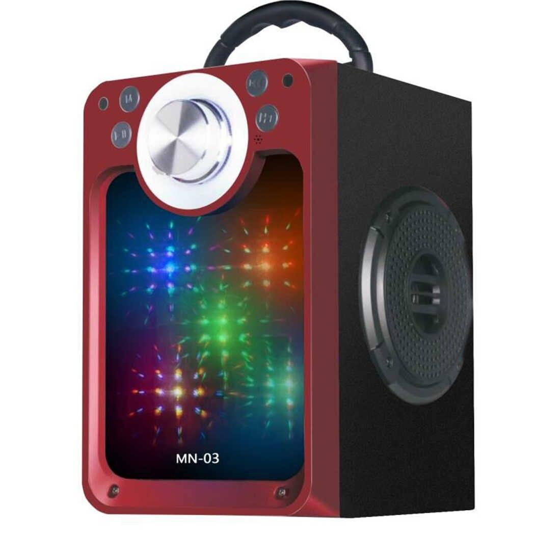 SPEAKER BLUETOOTH MN-03 FOR MP3 & MOBILE & FM & SD CARD USB & AUX & MIC سبيكر مرايه ,Speakers