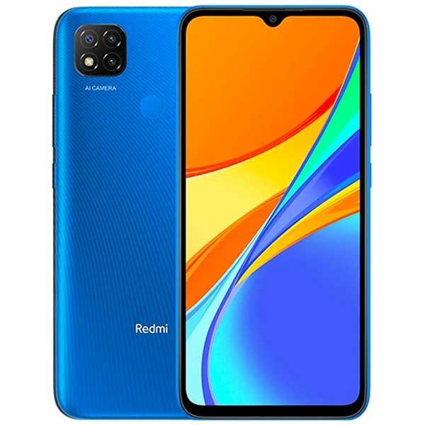 MOBILE PHONE XIAOMI 6.4 OCTA CORE 2.3GHZ 4GB 64GB DUAL SIM POCO C3 BLUE ,Android Smartphone
