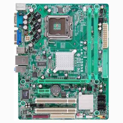 MB BIOSTAR P4 INTEL 945 GC  775 DDR2 VGA SB LAN   مستعمل ,Other Used Items