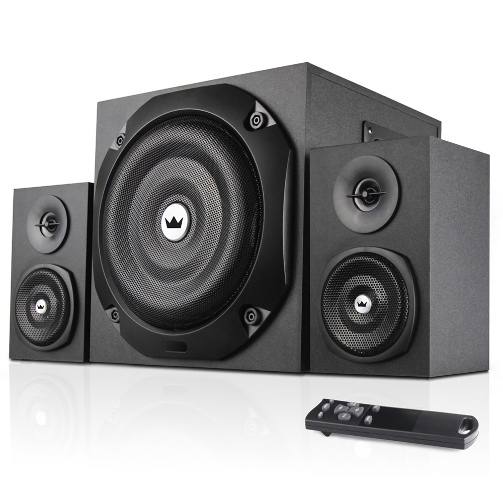 SUBWOOFER 2.1 CROWN CMBS-401 20W+10W * 2 (RMS) ,Home Theater & Subwoofer