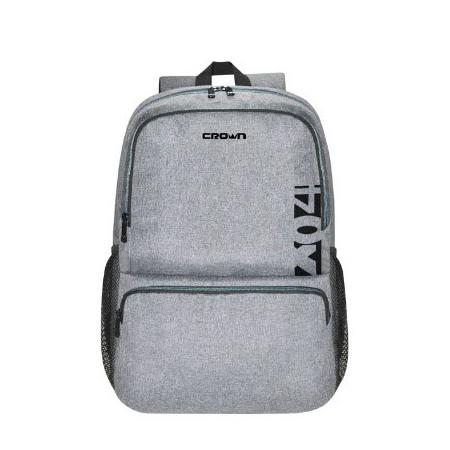 NOTEBOOK BACK BAG 15.6 CROWN CMBP-902 BLACK&GRAY ظهر ,Laptop Bag