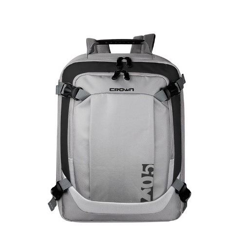NOTEBOOK BACK BAG 15.6 CROWN CMBP-906S  BLACK&GRAY ظهر ,Laptop Bag