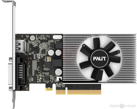 VGA PALIT GeForce® GT 1030 2G DDR4 64bit ,Desktop Graphic Card