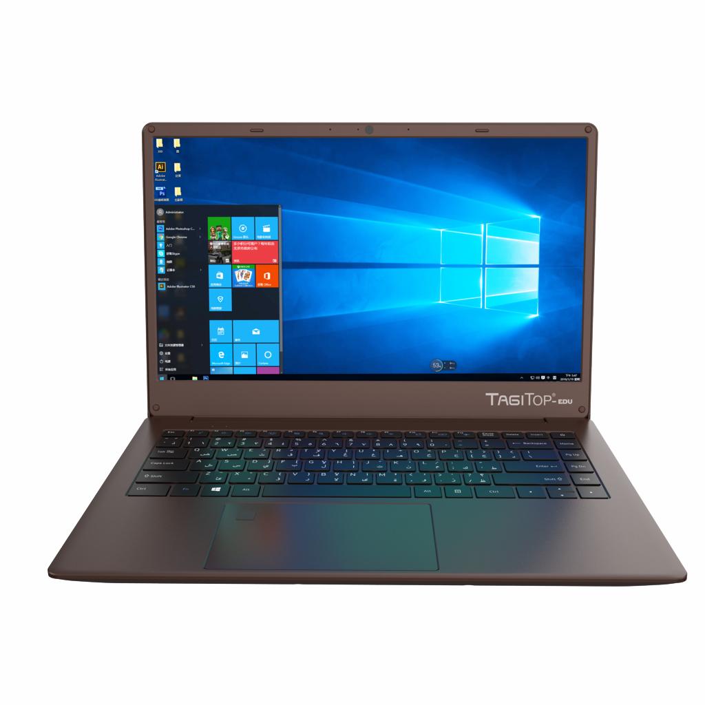 NOTEBOOK TAGITOP-EDU I3 1005G1 3.60GHz 6M 4G HD SSD 128G VGA INTEL 14.0 BROWN ,Laptop Pc