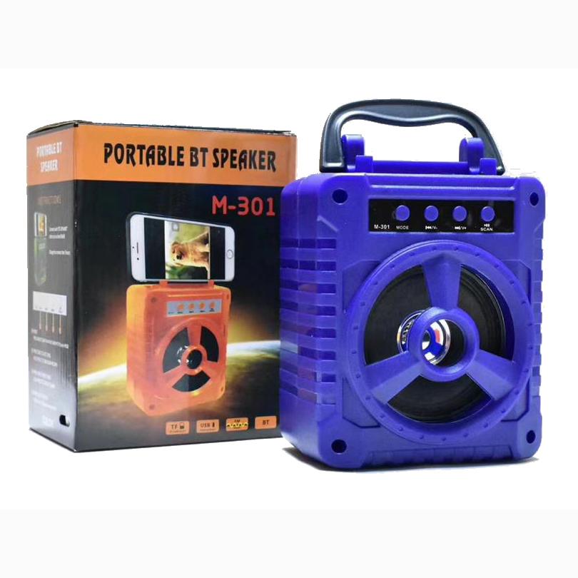 SPEAKER BLUETOOTH FOR MP3 & MOBILE & FM & SD CARD USB M-301 ,Speakers