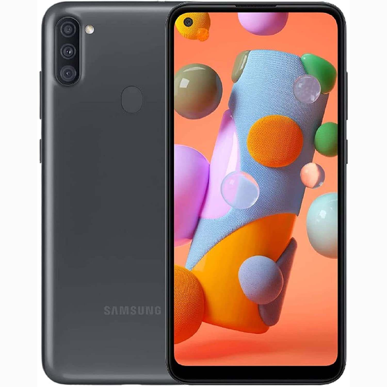 MOBILE PHONE SAMSUNG 6.4 OCTA CORE 1.8GHZ 2GB 32GB DUAL SIM GALAXY A11 BLACK OB ,Android Smartphone