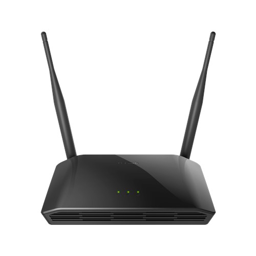 ACCESS POINT+SWITCH 4PORT+WIRELESS-N 300N+2ANTENNA D-LINK DIR-615 - قطعة ,ADSL Routers