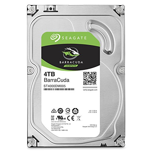 HD 4 TERRA SEAGATE BARRACUDA SATA3 256 MB 5400 RPM