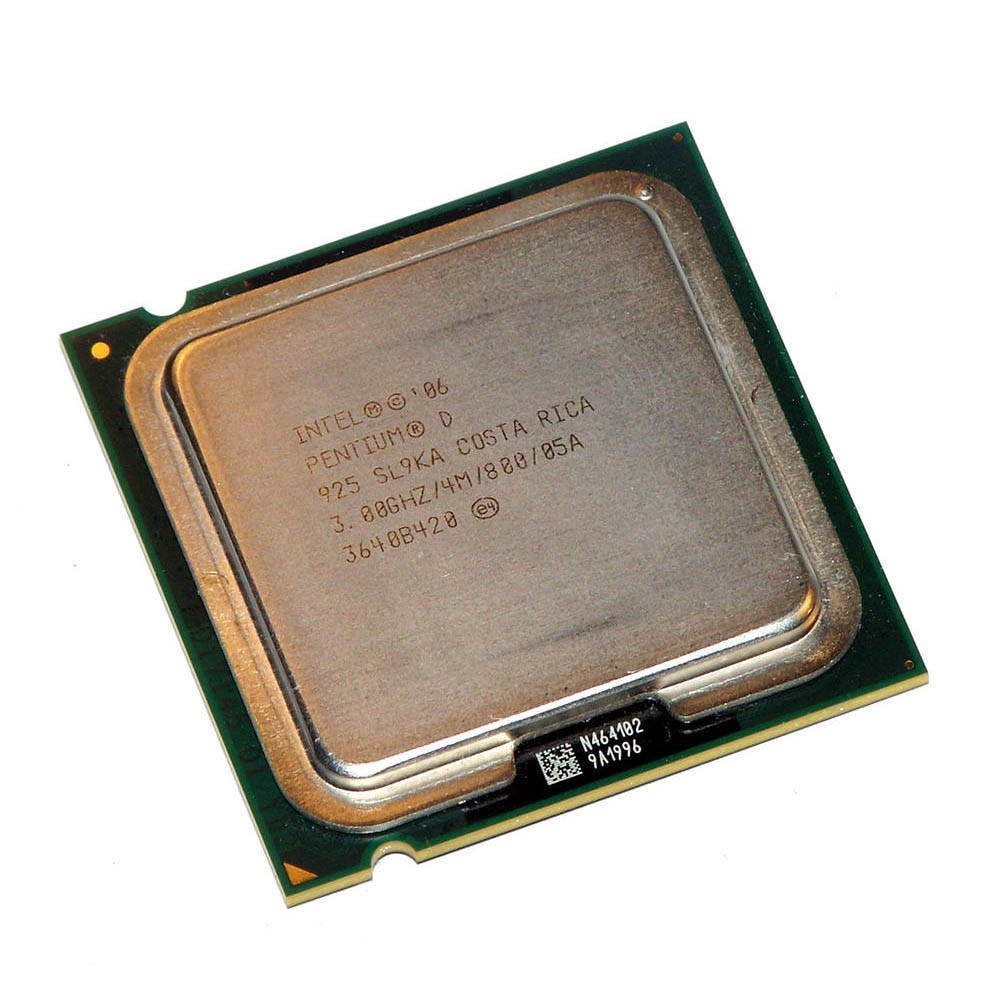 CPU INTEL P-D 3GHZ PC800 SOK775 DUALCORE TRAY 4MB 925 مستعمل ,Other Used Items